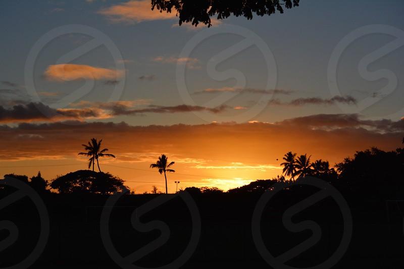hawaii sunset. All rights reserved @tkmaunakea photo