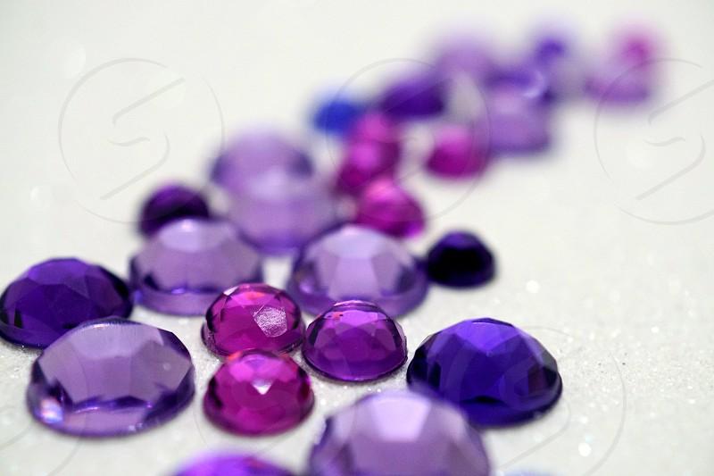 Purple Rhinestones           photo
