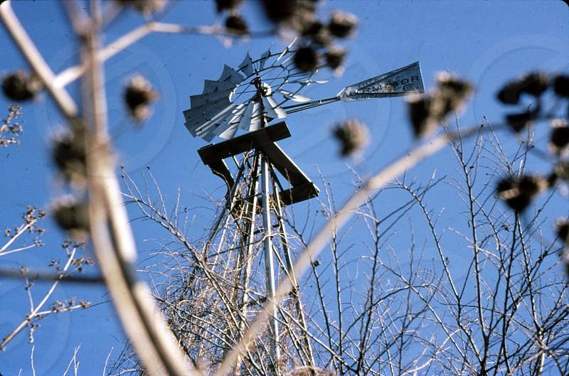 Nebraska windmill. photo