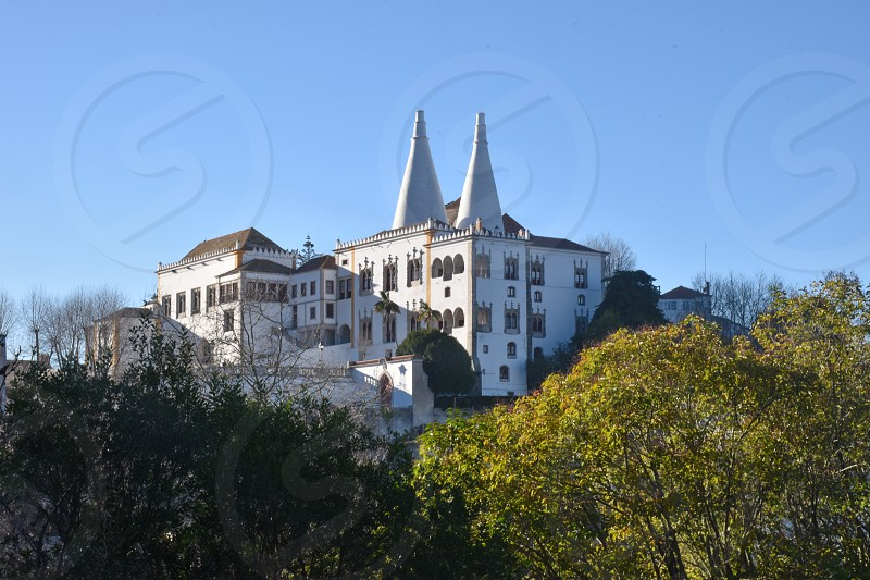 National Palace in Sintra Portugal photo