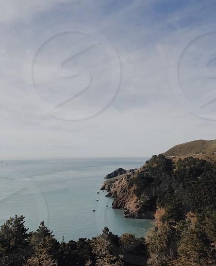 Park next to the Golden Gate bridge on the Sausalito side photo