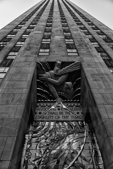 art deco building facade sculpture photo
