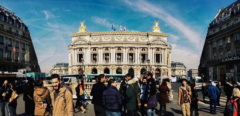 Place L'Opéra Paris Mozart Beethoven Garnier Square Opera photo