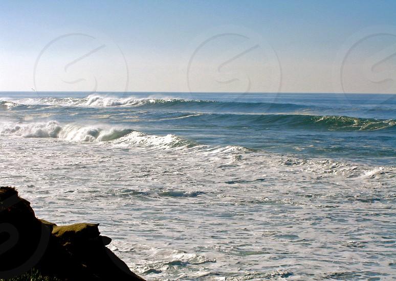 Waves along the San Diego coast photo