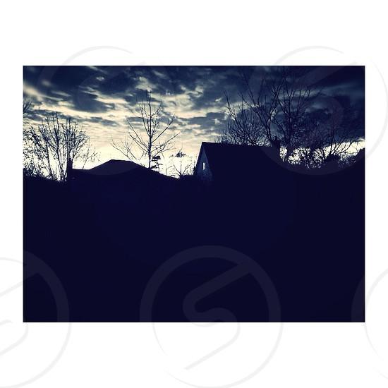 Clouds... photo