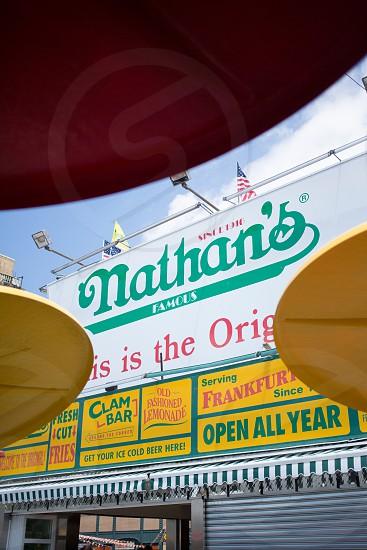 nathan's famous shop photo