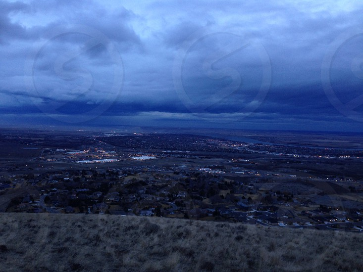 Columbia Basin weather approaches photo