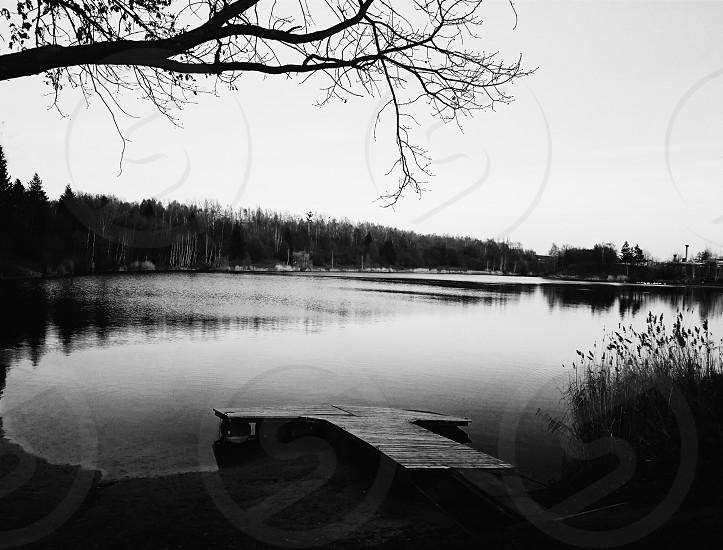 lake view bnw black&white mood nature landscape explore water season photo