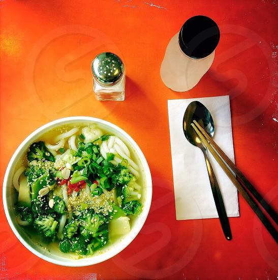 green vegetables  photo