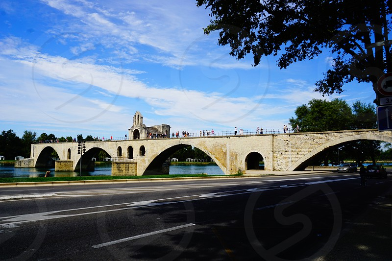 France Pont d'Avignon photo