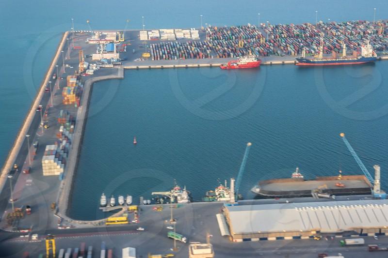 Shipping/Dockyard industry. photo