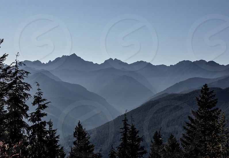Olympic Mountains; Washington photo