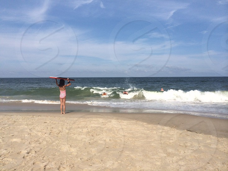 Boogie boarding. Bethany Beach DE photo