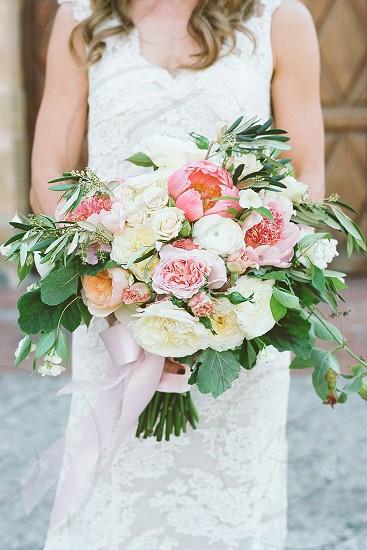 wedding brides bouquet florals flowers photo
