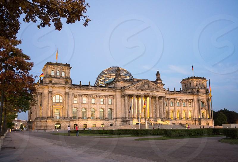 Reichstag building. Berlin. photo