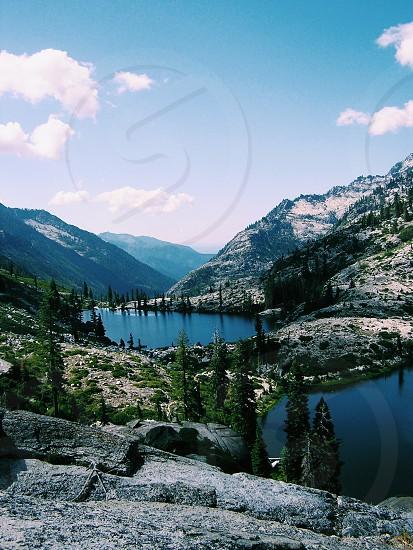 Trinity Alps Lakes California photo