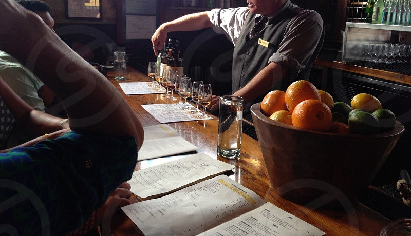 Whiskey tasting at High West Salon in Park City Utah photo