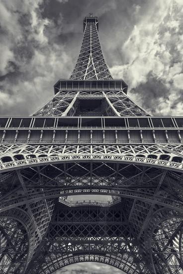 La Tour Eiffel - low angel view photo