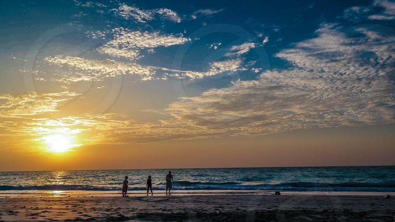 Beautiful Sunset photo photo