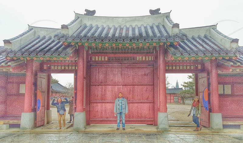 Hwaseong Fortress gate photo