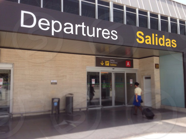 departures entrance photo