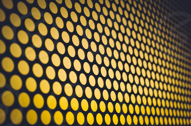yellow abstract photo