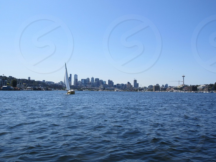 Seattle from Lake Union photo