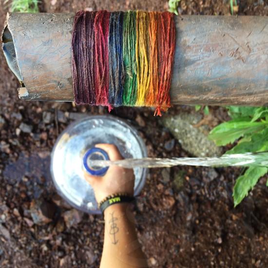 Sprig spring activities Seasons rainbow colors water spring water springs h2o harvesting chemical free holistic  photo
