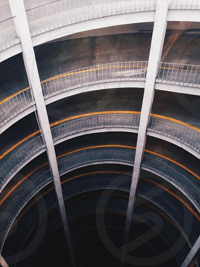 gray spiral shaped building photo