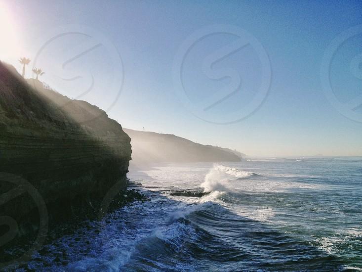 cliff landscape  photo