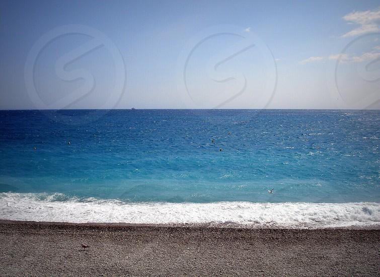 Blue.  photo