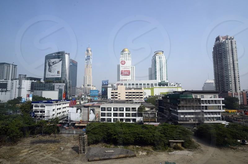 the city centre in Pratunam in the city of Bangkok in Thailand in Southeastasia. photo