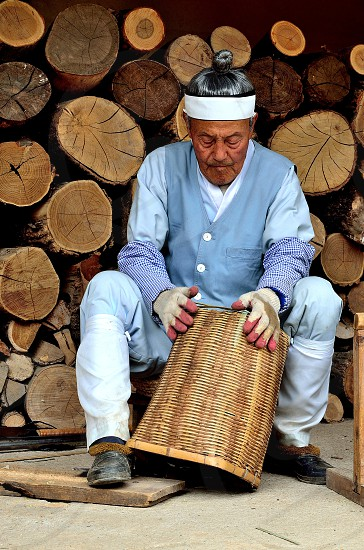 Traditional craftsman. photo