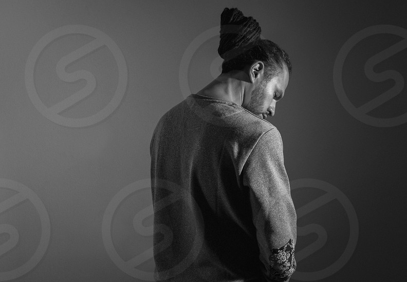 Studio  portrait  lighting  studio lighting  dreadlocks  hair style  model   photo