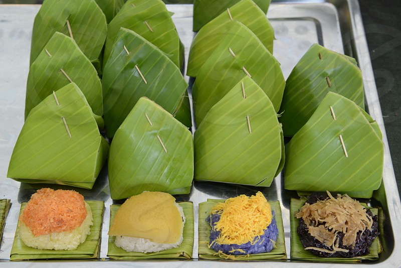 ASIA SOUTHEASTASIA THAILAND THAI FOOD ASIAN FOOD FAST FOOD TAKE AWAY  photo