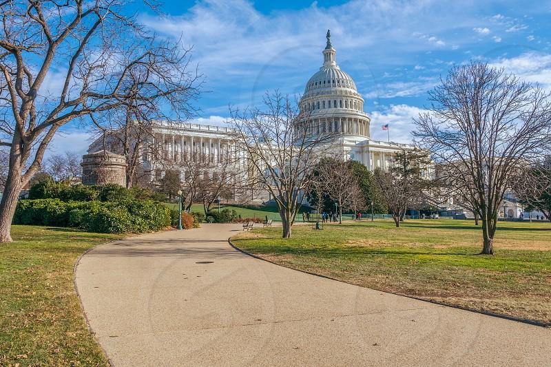 The United States Capitol. Washington DC. USA  photo