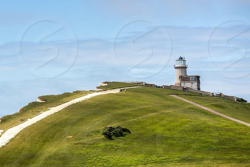 The Belle Toute Lighthouse at Beachey Head photo