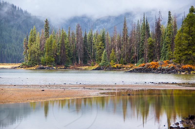 Sparks Lake in Central Oregon. photo