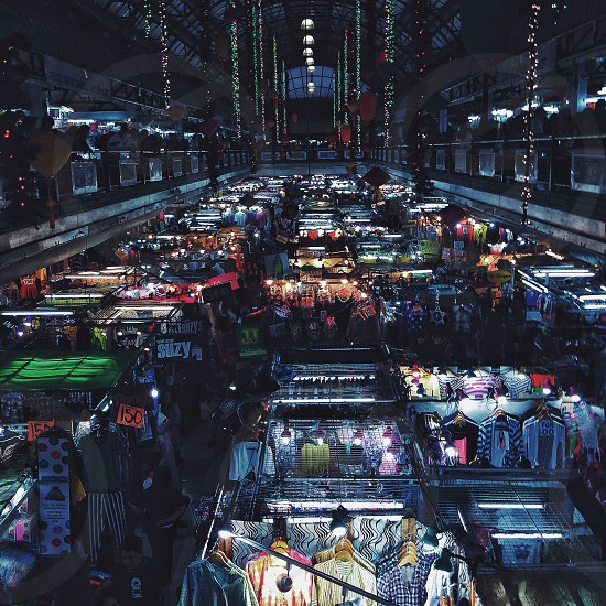 bazaar aerial view  photo