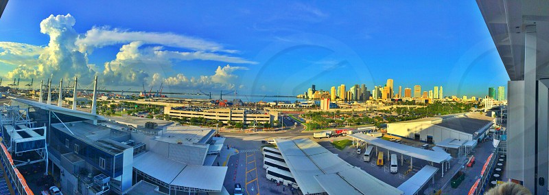 The port of Miami  photo