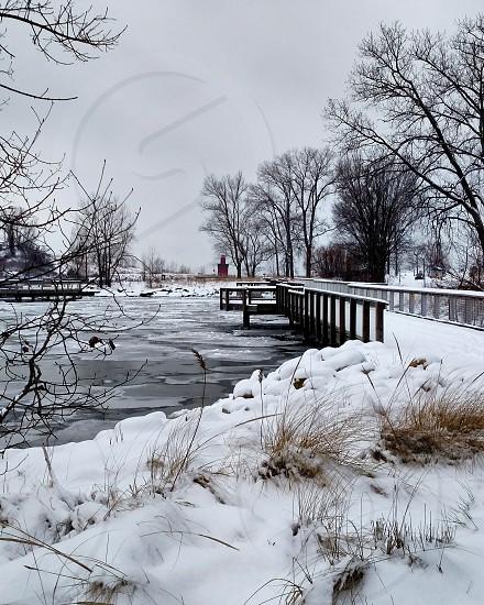Lake Michigan. Holland State Park photo