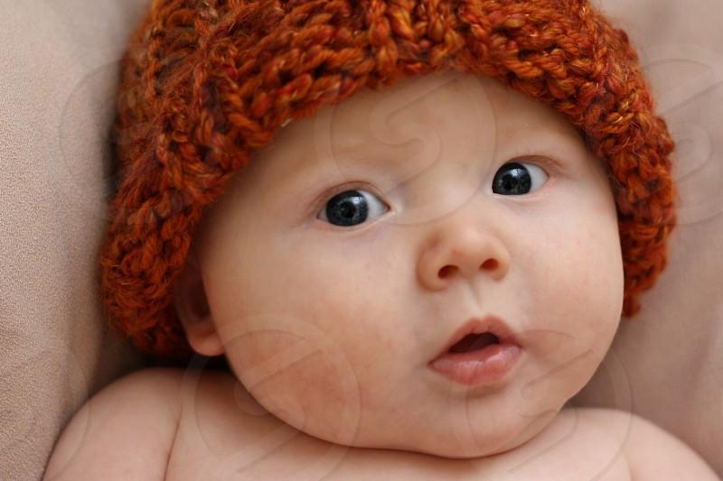 Baby's first halloween. photo