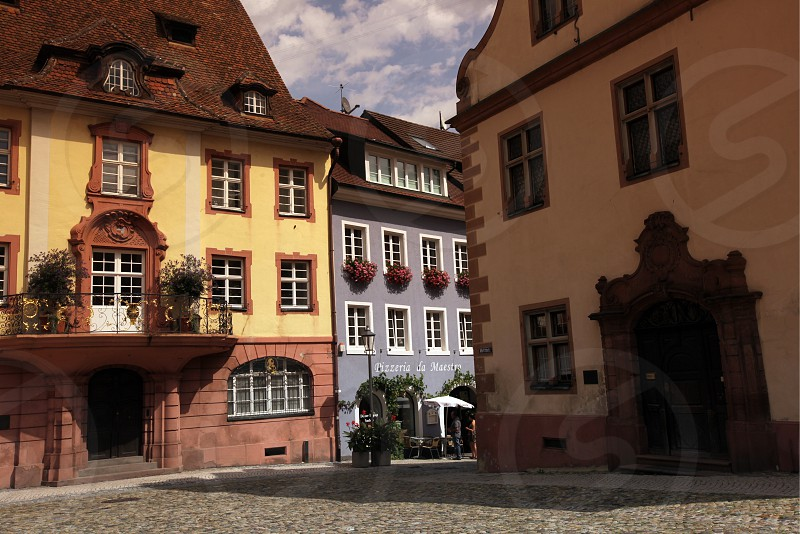 the village of Endingen im Kaiserstuhl in the Blackforest in the south of Germany in Europe. photo