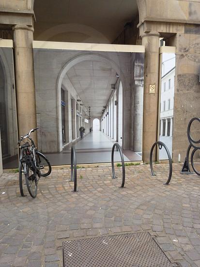 bike citties urban life art outdoors photo