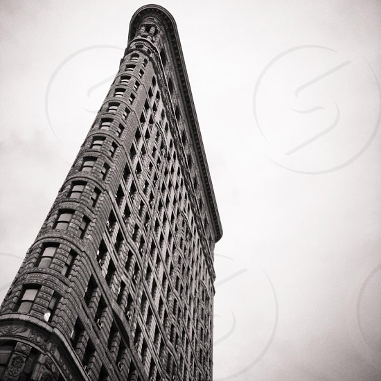 Flat iron building in NYC  photo
