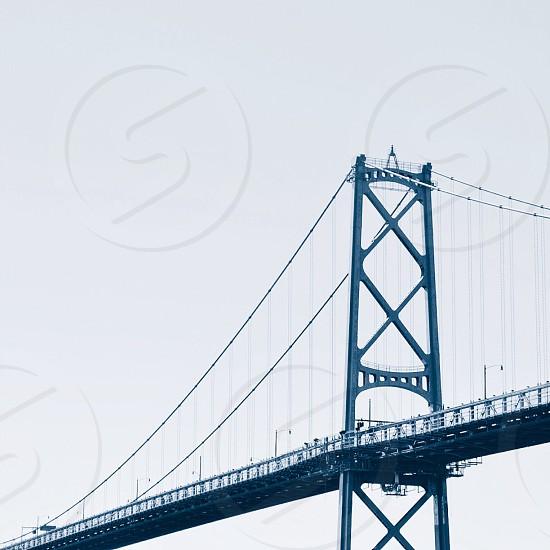 black metal bridge photo