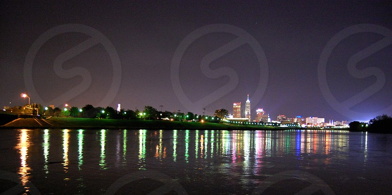 Indianapolis Skyline.  photo