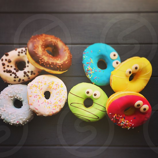 Fooddonutstastycolorful  photo