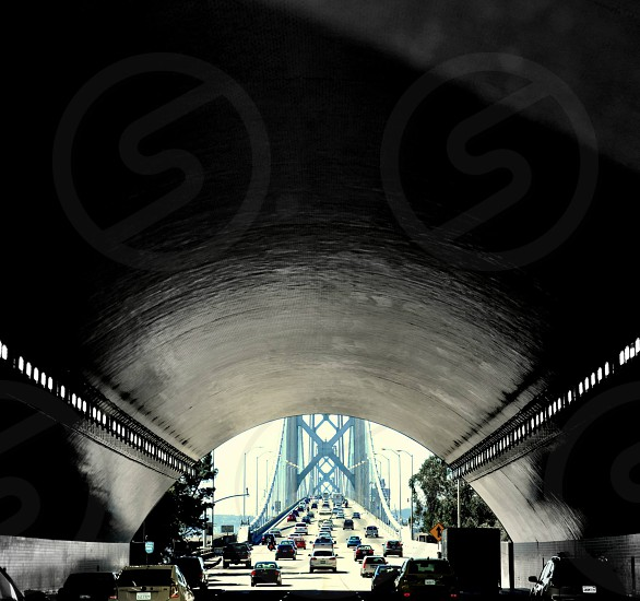 tunnel out to bridge photo