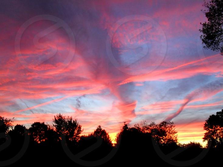 Sunset Tornado photo